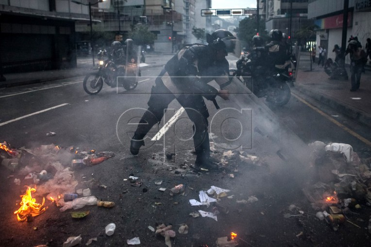 OPPOSITION DEMONSTRATIONS IN CARACAS